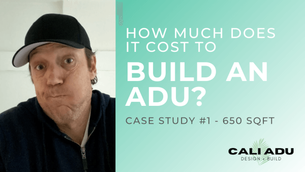 How Much Does It Cost To Build An ADU?